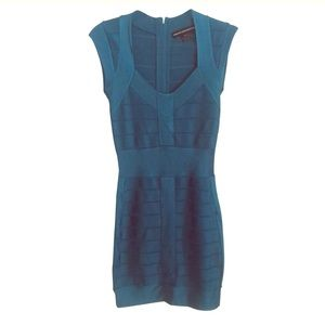 French connection Bandage Dress (Turquoise)